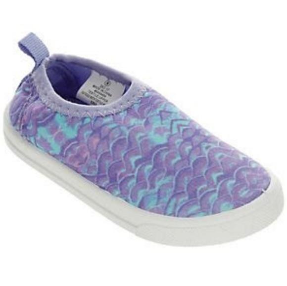 ca115fc9ce98 NWT Roxy Girls Wavy Water Shoes Purple Size 6